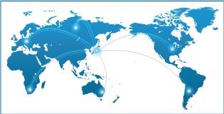 世界70カ国での導入実績と信頼